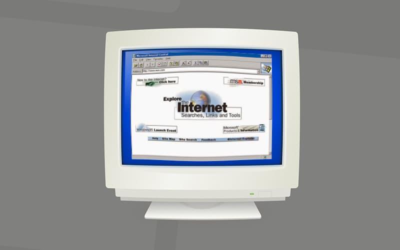 Internet Explorer Historia