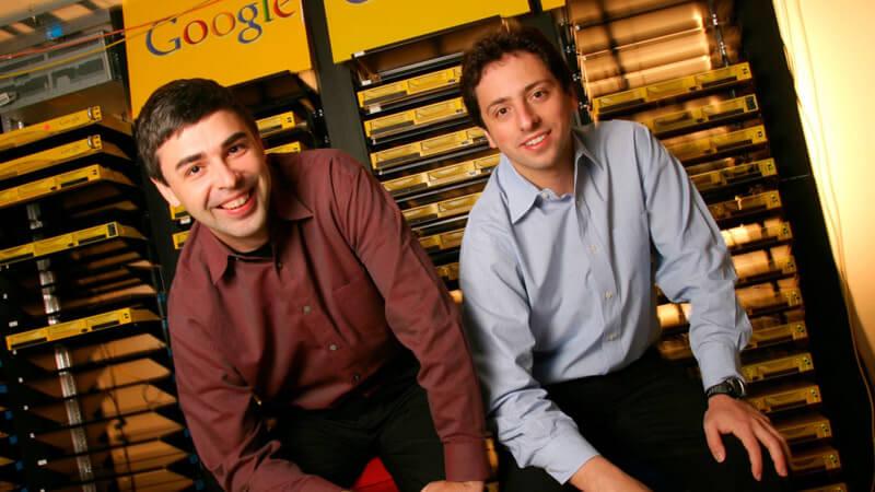 Larry Page y Sergei Brin